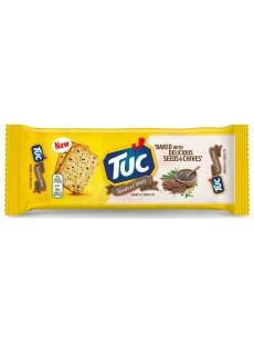 Μπισκότα TUC σπόροι και πράσο 100gr
