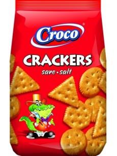 Crackers CROCO  αλάτι 100gr