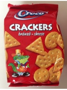 Crackers CROCO  τυρί 100gr