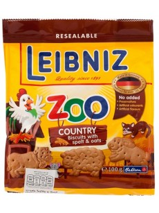 Μπισκότα LEIBNIZ  ZOO 100gr  country