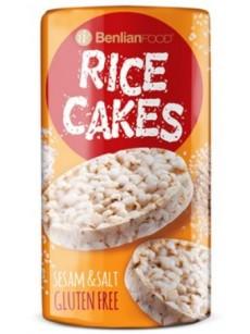 Ριζογκοφρέτα (RICE CAKE )   σουσάμι  100γρ