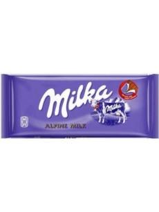 Milka  ALPINE γάλακτος 100γρ