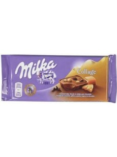 Milka  college caramel  93γρ