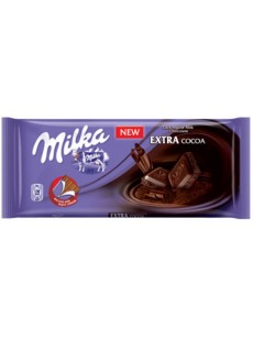 Milka  extra cacao  90γρ