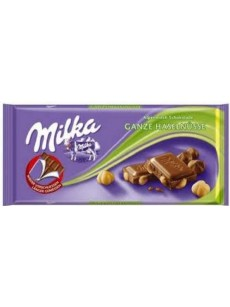 Milka  φουντουκι ολόκληρο 100γρ