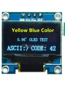 128x64 IIC I2C Blue OLED LCD Display