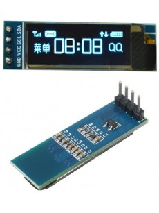 128x32 IIC I2C Blue OLED LCD Display