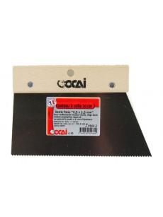 Σπάτουλα της OCAI  ψιλό δόντι 20εκ  1.5X1.5mm