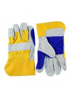 Γάντια δερματοπάνινα ενισχυμένη παλάμη