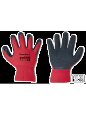 Γάντια αφρολατεχ κόκκινα Νο9