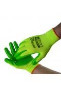Γάντια νιτριλίου Πορτοκαλί  Νο 9 Bradas