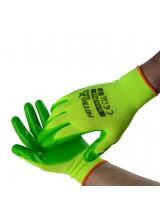 Γάντια νιτριλίου πράσινα Νο 7