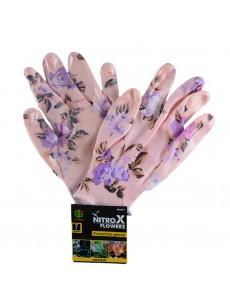 Γάντια νιτριλίου λουλούδι Ν0 7