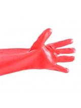 Γάντια πετρελαίου κόκκινα 30εκ