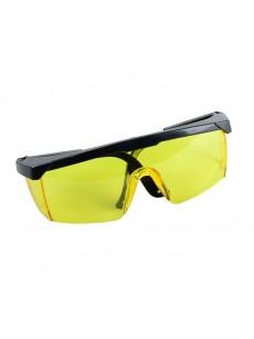 Γυαλιά προστασίας κίτρινα με ρυθμιζόμενο σκελετό