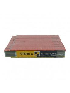 Μέτρο ξύλινο πολύχρωμο STABILLA 2m