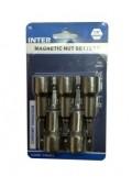 Καρυδάκια μαγνητικά 13mm INTER σετ 5 τεμ
