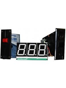 Μετρητής - χρονόμετρο για πλυντήρια αυτοκινήτων 3 ψηφίων 5.3cm