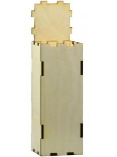 Ξύλινο κουτί  5.5Χ5.5Χ15εκ